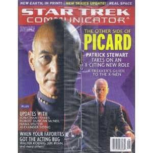 OFFICIAL CLUB MEMBER MAGAZINE ISSUE #129 PICARD COVER Everything Else