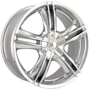 Ion Alloy 161 Chrome Wheel (15x7) Automotive