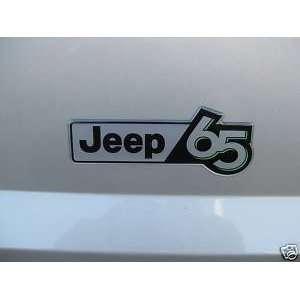 JEEP 65 65TH ANNIVERSARY JEEP65 DECAL EMBLEM MOPAR OEM