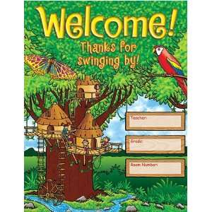 Teachers Friend 978 0 545 11911 5 Jungle Treehouse Chart