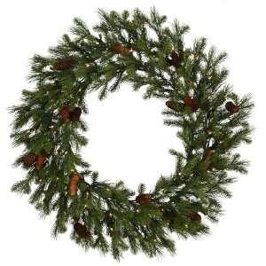 36 Sau Creek Pine Christmas Wreath 100 Dura Lit Clear