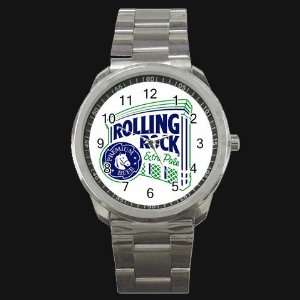 Rock Beer Logo New Style Metal Watch Free Shipping Everything Else