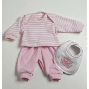 . Layette Set  Pink 2011 Yours To Adore Adora Accessory: Toys & Games