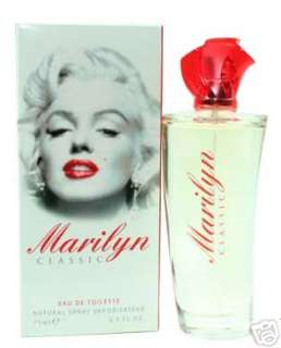 MARILYN by Marilyn Monroe 2.5 OZ EDT NIB WOMEN PERFUME