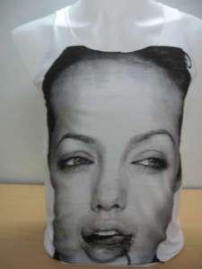 Angelina Jolie Brad Pitt Fashion Pop RockTank T Shirt S