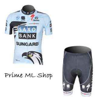 2011NEW BIKE CYCLING Jersey and Shorts SET SIZE S   2XL