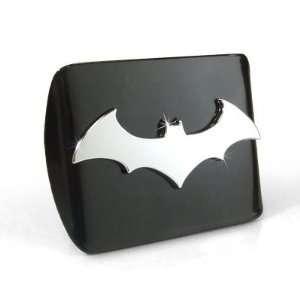 Batman 3D Black Tow Hitch Cover Automotive