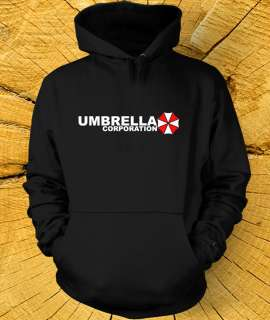 UMBRELLA CORPORATION HOODIE Resident Evil Corp Super Soft Hoody in 16