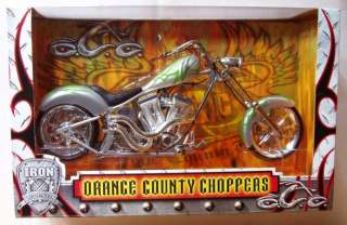 CHOPPERS Silver & Green CHOPPER IRON LEGENDS by Toy Zone Inc.