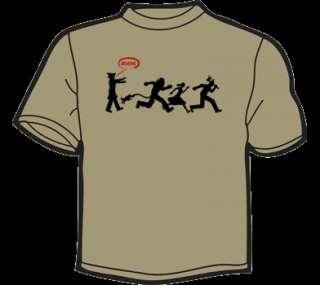 ZOMBIE SCARECROW OZ T Shirt MEN zombies funny eat flesh