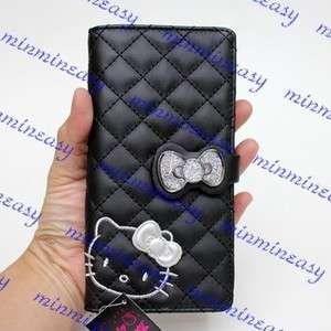 Sanrio Hello kitty black Long Zipped Coins wallet Purse