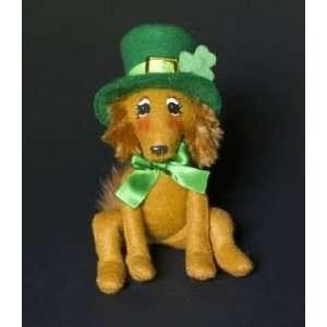 Annalee Mobilitee Doll Irish St Patricks Day Irish Setter