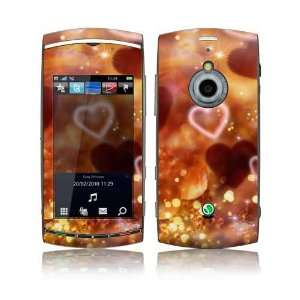 Love Love Love Design Decorative Skin Decal Sticker for Sony Ericsson
