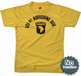101st Airborne Screaming Eagle New Army Ranger T shirt