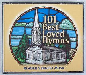 READERS DIGEST MUSIC 101 BEST LOVED HYMNS 4 CD SET