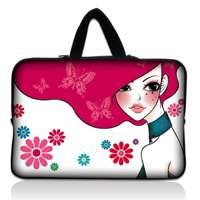 10 Zebra Print Laptop Sleeve Bag Case+Hide Handle For Apple Ipad 2 w