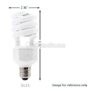 Sunlite 5499 26 Watts T3 Mini Spiral Medium(E26)Base SL26