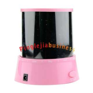 New Romantic Flashing Colorful Star Sky Night light Lamp LED Projector