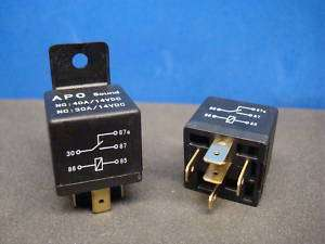 NEW 12 VOLT 5 PIN 40 30 AMP POWER RELAYS SWITCH 87 85