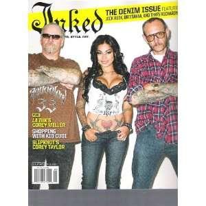 Inked Magazine (The denim Issue, September 2010): Books