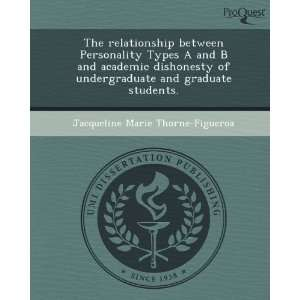 The relationship between Personality Types A and B and