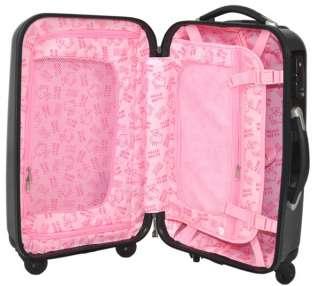 HelloKitty 24 Luggage Bag Baggage Trolley Roller Black