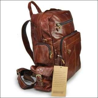 Genuine Leather Satchel Backpack Handbag Shoulder Bags