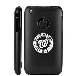 Apple iPhone 3G 3GS Black Aluminum Metal Case Washington