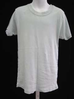 PETIT BATEAU Lt Blue Short Sleeve Shirt Top Sz 14 ANS
