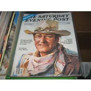 Saturday Evening Post Memorial Issue (John WayneSecond Printing by