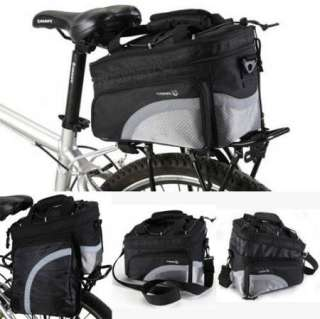 Cycling Bike Travel 15L Bicycle Scalable Capacity Rear Seat Pannier