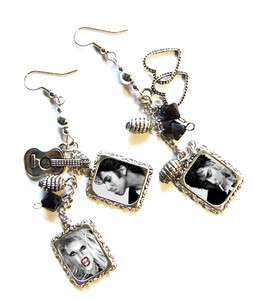 LADY GAGA ** you and i ** Born This Way * monster judas earrings