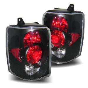 93 98 Jeep Grand Cherokee Black Tail Lights Automotive
