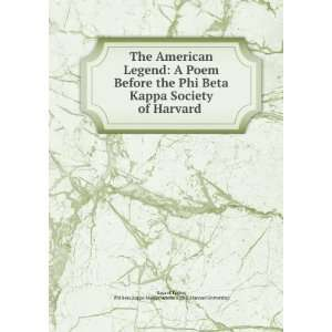 Kappa Massachusetts Alpha (Harvard University) Bayard Taylor Books