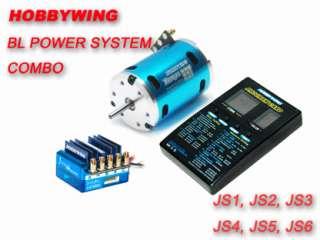 Hobbywing JUSTOCK ESC 10.5T/3300KV Brushless Combo for 1/10 Car DRIFT