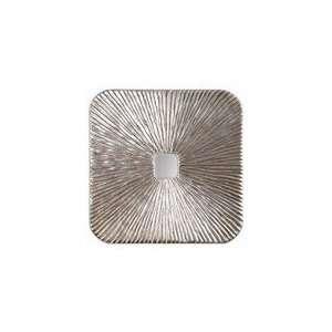 Uttermost Antiqued Silver Leaf Laden Mirror