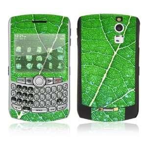 BlackBerry Curve 8330 Skin   Green Leaf Texture