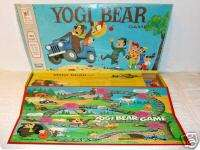 YOGI BEAR Game © 1971 Milton Bradley 4107