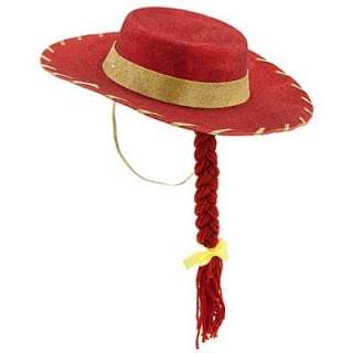 Disney Toy Story 3 Jessie Cowgirl Red Hat for Girls Pretend Play Dress
