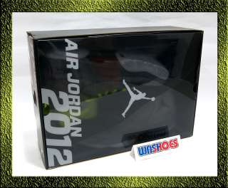Air Jordan 2012 Wolf Grey Volt Silver White Black Yellow Green US 8~12