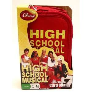 Disney High School Musical 2 Star Dazzle Card Game Sports