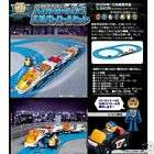 TOMY PLARAIL HYPER GUARDIAN BATTERY TRAIN SET W/ TRACK