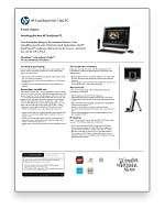 HP TouchSmart 600 1370 All in One Desktop PC   Black