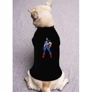 America comic movie marvel hero limited DOG SHIRT SIZE M: Pet Supplies