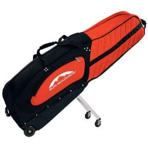 Sun Mountain ClubGlider Meridian Golf Travel Bag (Black/Lava) Sports