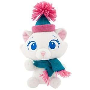 Disney Winter Woolies Mini Bean Bag Marie Plush Toy Toys