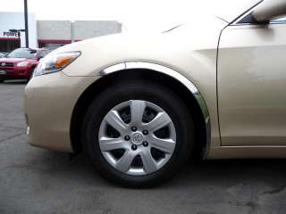 2007 2011 Toyota Camry Stainless Steel Fender Trim Chrome Accessories