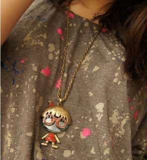 Retro jewellery charm lovely baby long necklace pendant XL50