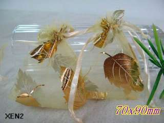 Various White Wedding gift favor bag jewelry organza pouches