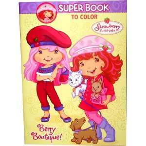 Shortcake Super Book to Color ~ Berry Boutique Toys & Games